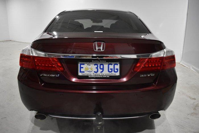 2015 Honda Accord V6L 9th Gen MY14 Burgundy