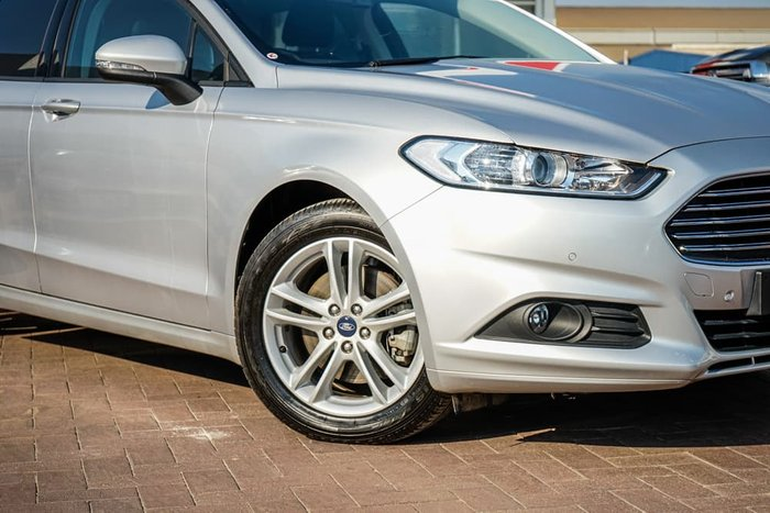 2018 Ford Mondeo Ambiente MD MY18.25 Moondust Silver