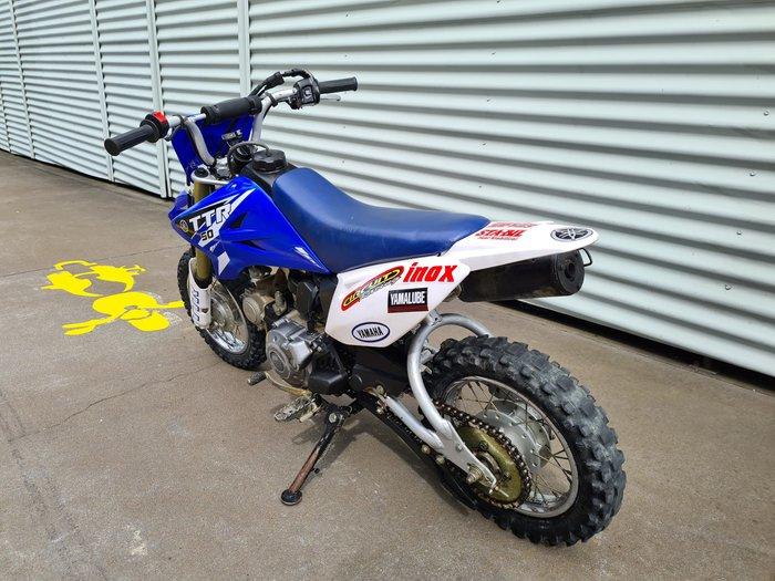 2013 Yamaha TT-R50E TT-R Team Yamaha Blue & White