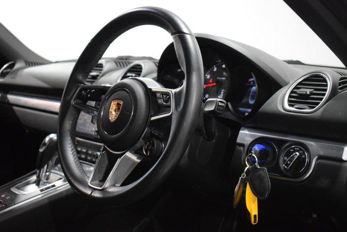2017 Porsche 718 Boxster S 982 MY17 Agate Grey