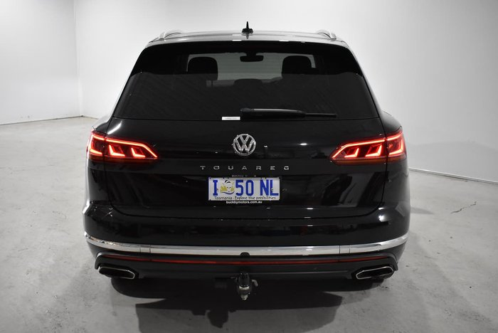 2019 Volkswagen Touareg 190TDI Launch Edition CR MY19 Four Wheel Drive Deep Black