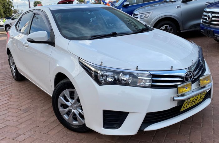 2014 Toyota Corolla Ascent ZRE172R White