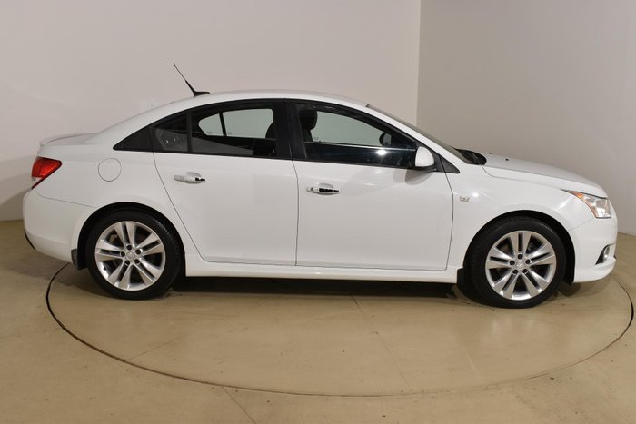 2013 Holden Cruze SRi-V JH Series II MY14 Heron White