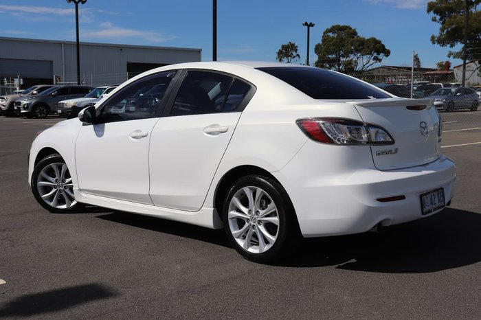 2009 Mazda 3 SP25 BL Series 1 White