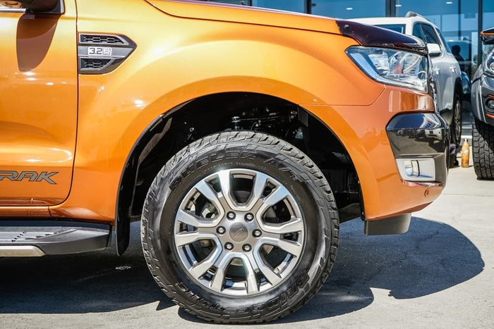 2016 Ford Ranger Wildtrak PX MkII 4X4 Dual Range Pride Orange