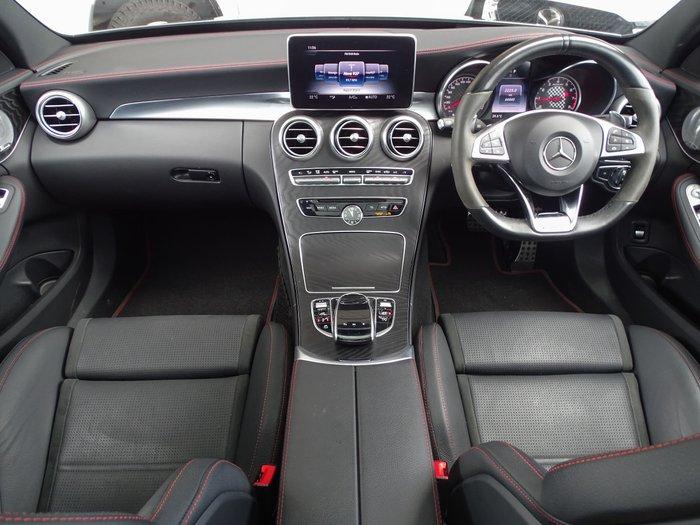 2017 Mercedes-Benz C-Class C43 AMG W205 Four Wheel Drive Selenite Grey