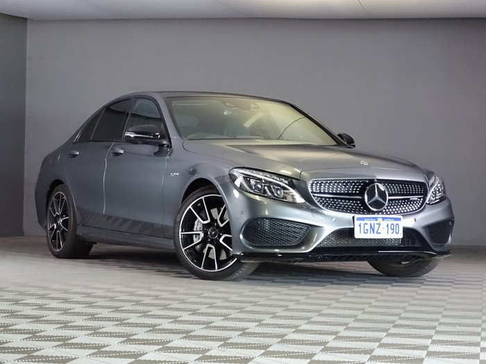 2017 Mercedes-Benz C-Class C43 AMG W205 Four Wheel Drive Selenite Grey