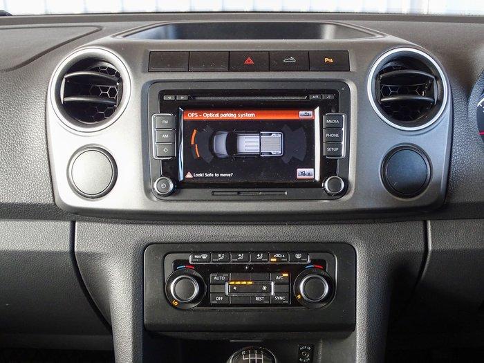 2013 Volkswagen Amarok TDI400 Highline 2H MY13 4X4 Dual Range Reflex Silver