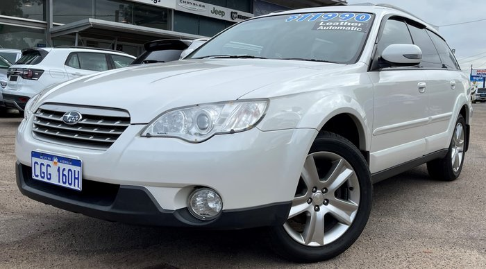 2008 Subaru Outback Premium Pack 3GEN MY08 AWD Satin White Pearl