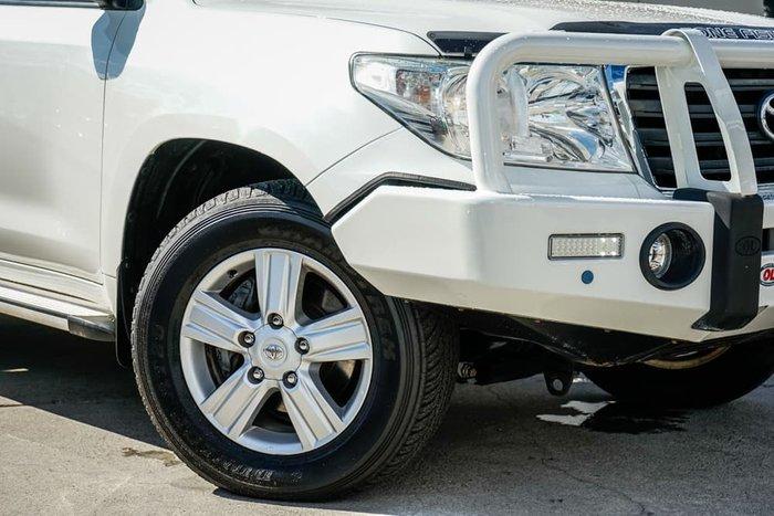 2013 Toyota Landcruiser Altitude VDJ200R MY13 4X4 Constant White