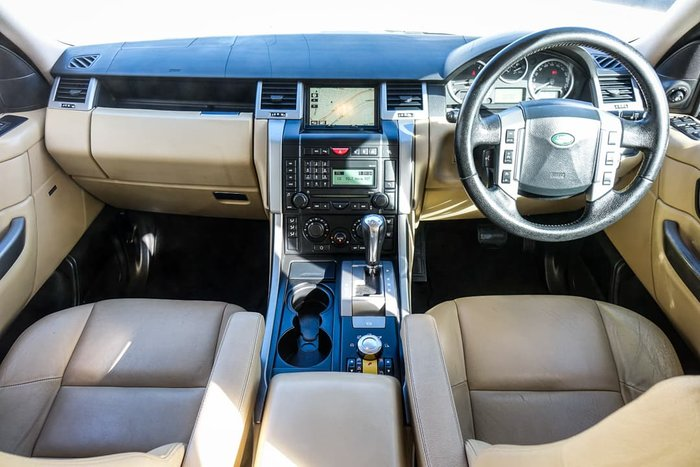 2008 Land Rover Range Rover Sport TDV8 L320 MY08 4X4 Dual Range White