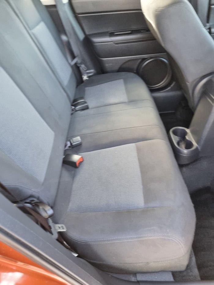 2012 Jeep Compass Sport MK MY12 Orange