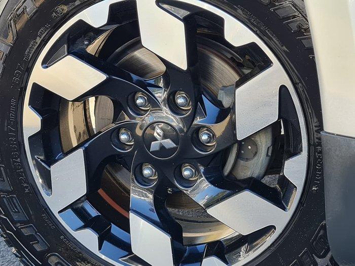 2016 Mitsubishi Triton Exceed MQ MY16 4X4 Dual Range Silver