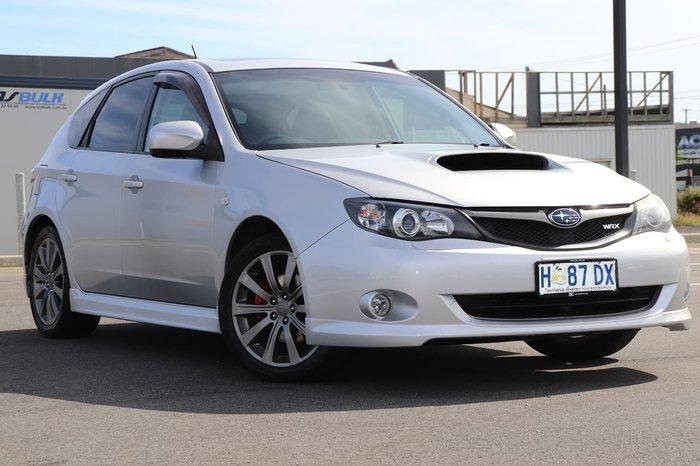 2009 Subaru Impreza WRX G3 MY09 AWD Silver