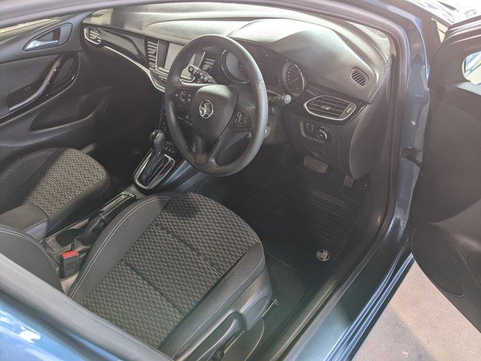 2016 Holden Astra R BK MY17 Deep Sky Blue