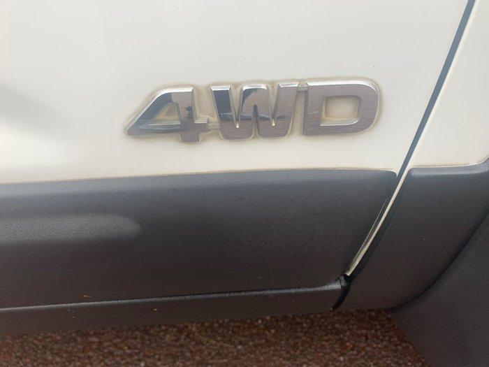 2009 Kia Sorento SLi XM MY10 Four Wheel Drive Clear White