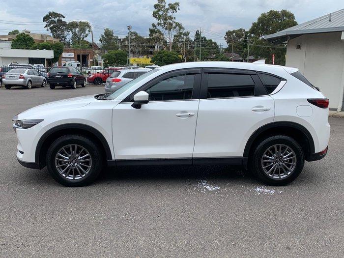 2018 Mazda CX-5 Touring KF Series AWD Snowflake White Pearl