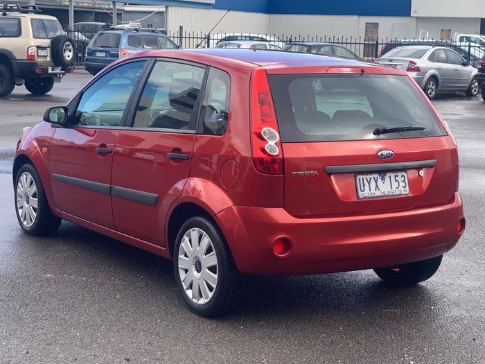 2007 Ford Fiesta LX WQ Orange