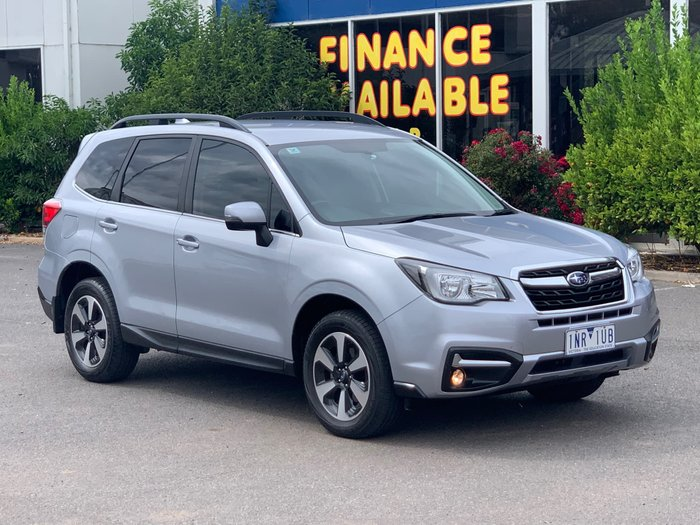 2018 Subaru Forester 2.5i-L S4 MY18 AWD Ice Silver