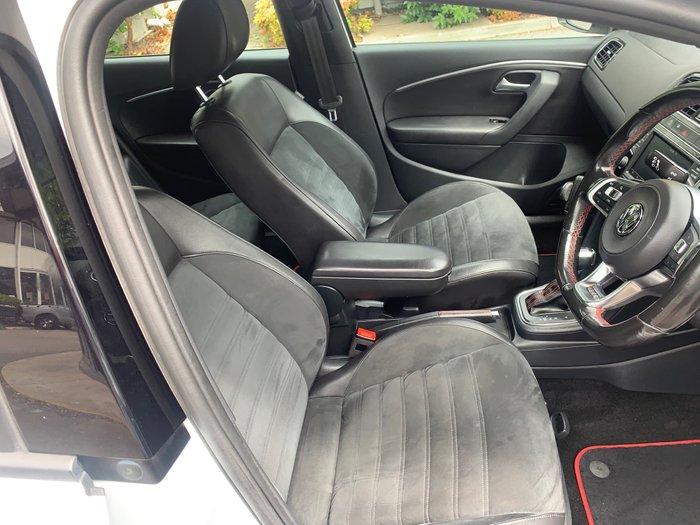 2016 Volkswagen Polo GTI 6R MY17 Pure White