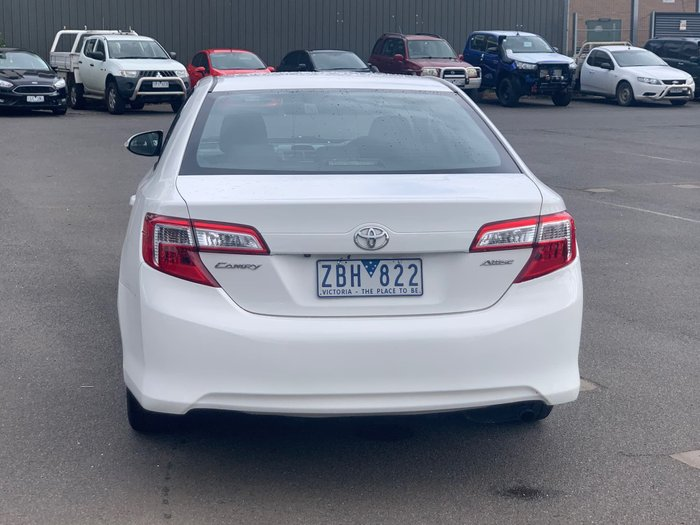 2012 Toyota Camry Altise ASV50R Diamond White