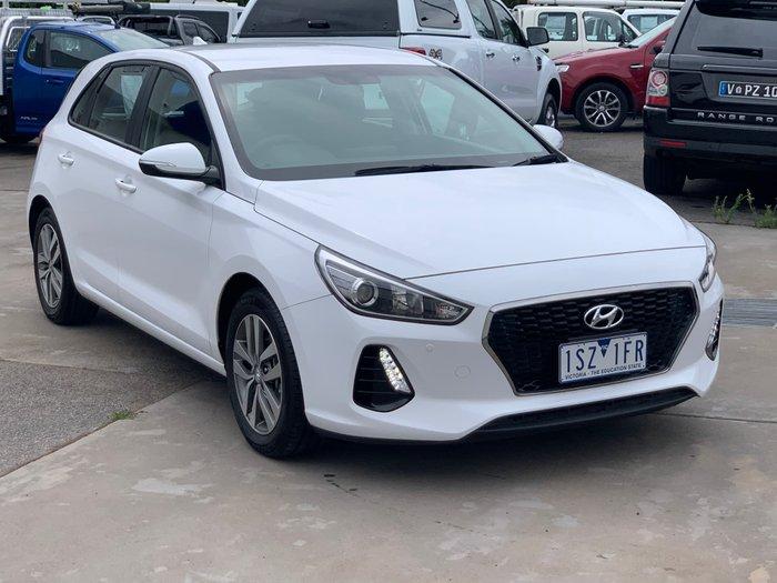 2017 Hyundai i30 Active PD MY18 Polar White