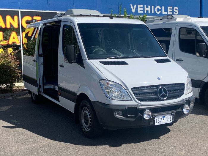 2013 Mercedes-Benz Sprinter 319CDI NCV3 MY13 Arctic White