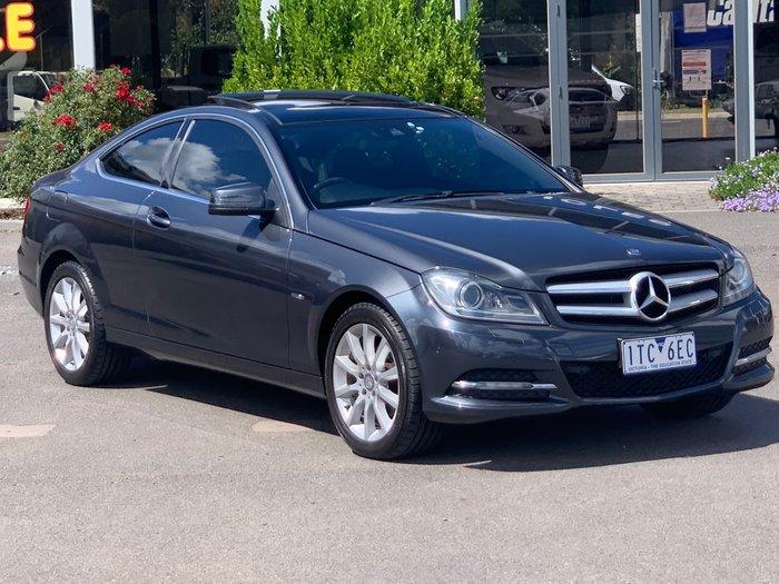 2012 Mercedes-Benz C-Class C180 BlueEFFICIENCY C204 Tenorite Grey