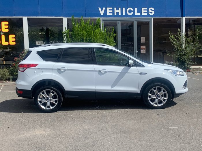2015 Ford Kuga Trend TF MkII MY15 AWD Frozen White