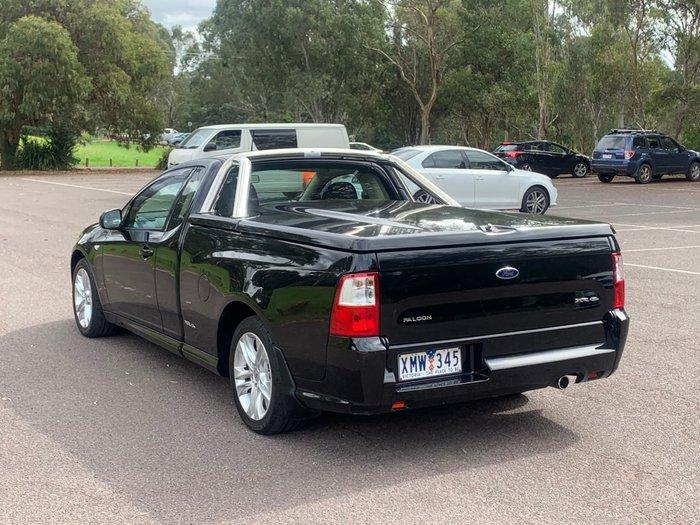 2009 Ford Falcon Ute XR6 FG Black