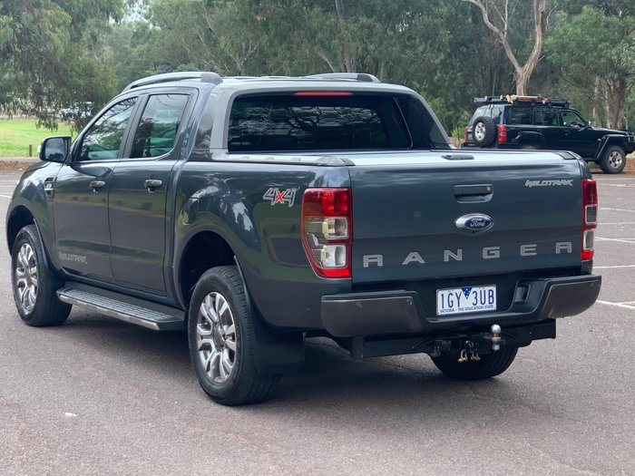 2016 Ford Ranger Wildtrak PX MkII 4X4 Dual Range Metropolitan Grey