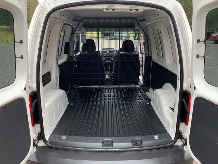 2016 Volkswagen Caddy TSI220 2KN MY16 Candy White