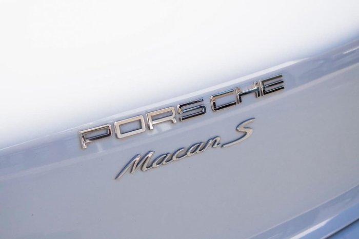 2016 Porsche Macan S 95B MY17 AWD White