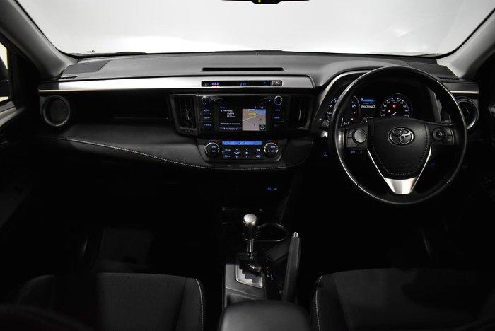 2017 Toyota RAV4 GXL ASA44R AWD Silver Sky
