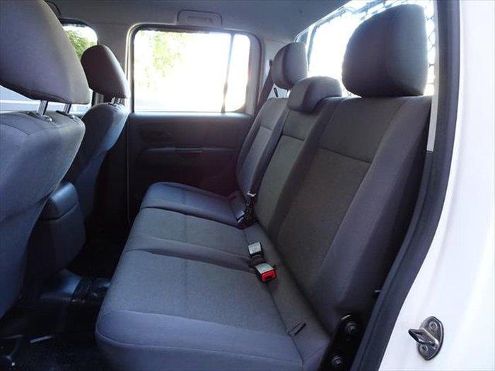 2016 Volkswagen Amarok TDI400 Core 2H MY17 4X4 Dual Range White