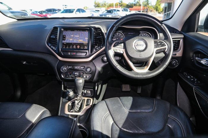 2014 Jeep Cherokee Limited KL 4X4 On Demand White