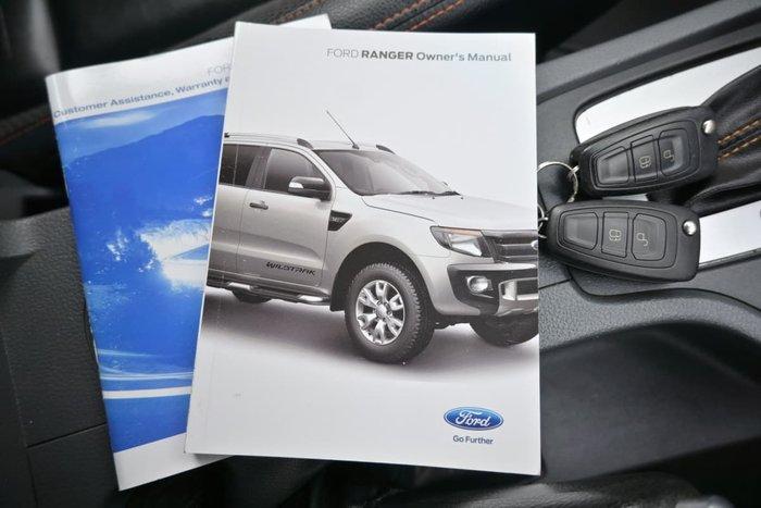 2015 Ford Ranger Wildtrak PX 4X4 Dual Range Cool White