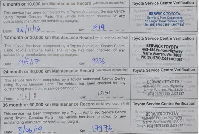 2016 Toyota Fortuner Crusade GUN156R 4X4 Dual Range Graphite