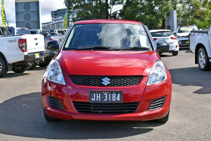 2013 Suzuki Swift GA FZ MY13 Red