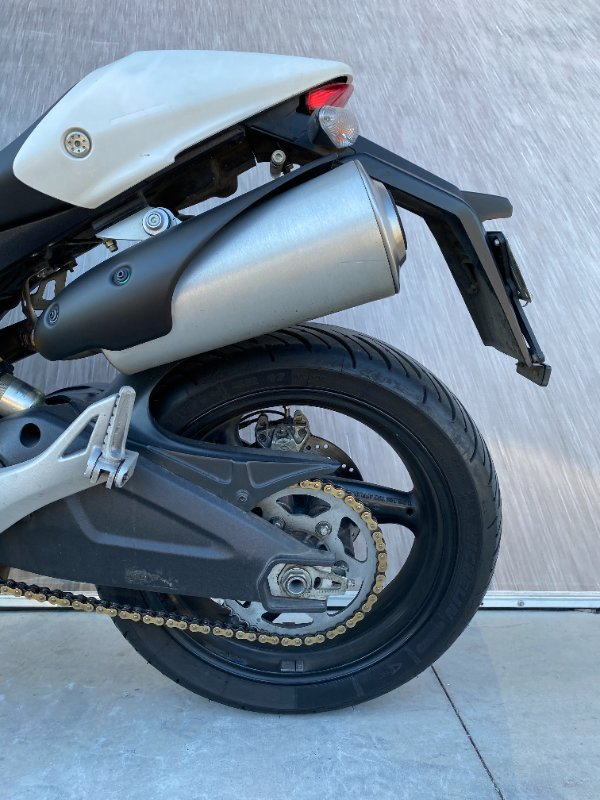 2014 DUCATI MONSTER 659 (ABS) White