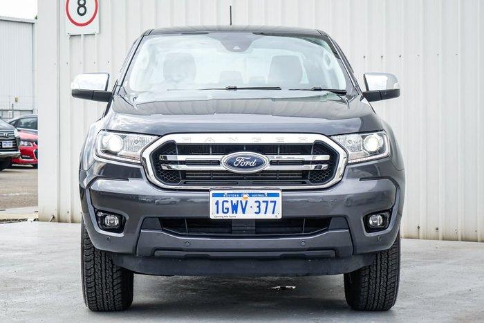 2019 Ford Ranger XLT PX MkIII MY20.25 4X4 Dual Range Meteor Grey