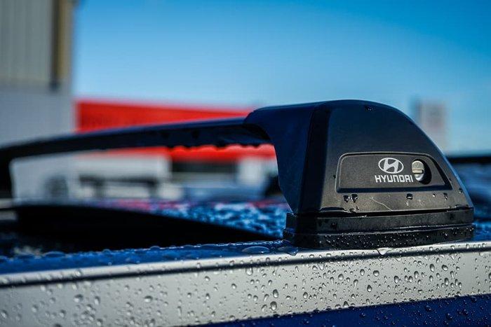 2018 Hyundai Santa Fe Highlander TM MY19 4X4 On Demand Stormy Sea