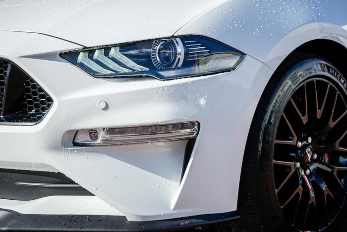 2018 Ford Mustang GT FN MY19 Oxford White