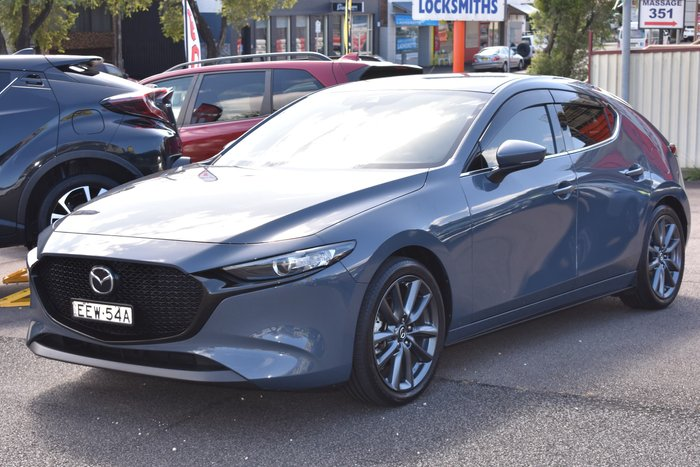 2019 Mazda 3 G25 GT BP Series Machine Grey