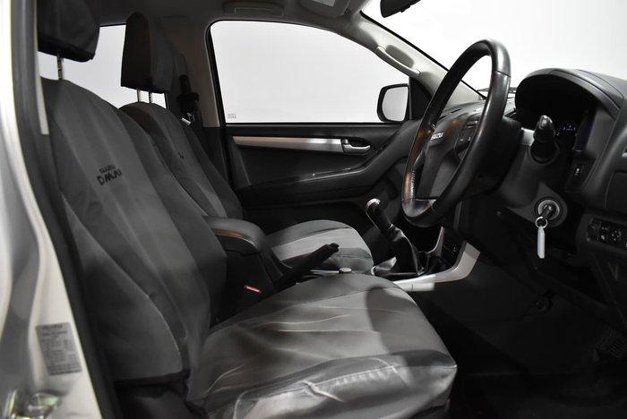 2016 Isuzu D-MAX LS-U MY15 4X4 Dual Range Titanium Silver