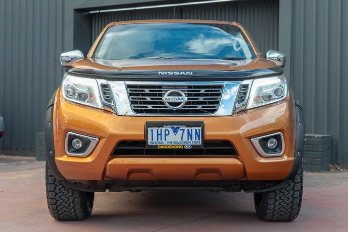 2016 Nissan Navara ST D23 4X4 Dual Range Hornet Gold