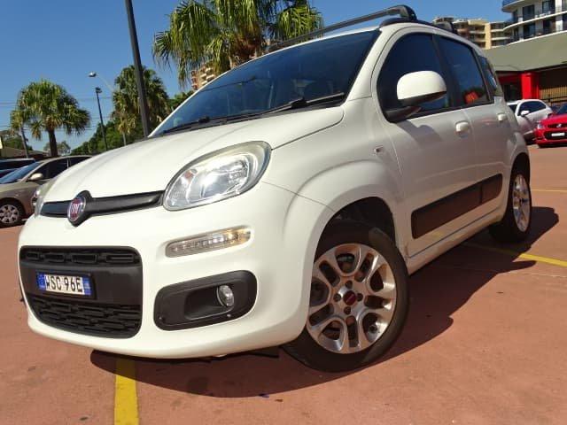 2013 Fiat Panda Lounge 150 Ambient White