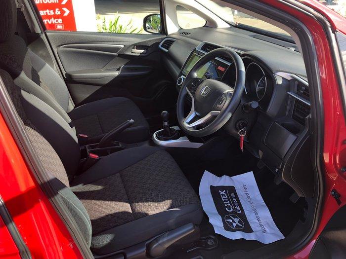 2015 Honda Jazz VTi GF MY15 Rally Red