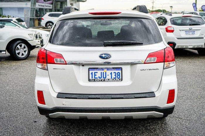2013 Subaru Outback 2.5i 4GEN MY13 AWD Satin White Pearl