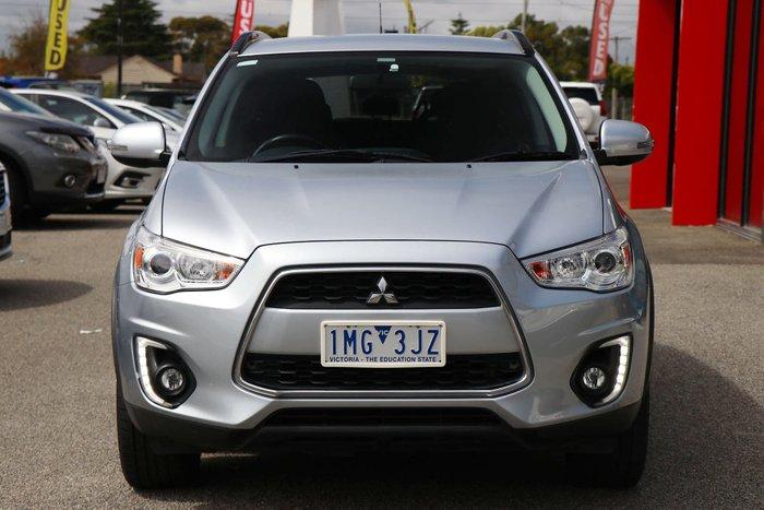 2016 Mitsubishi ASX LS XB MY15.5 Cool Silver